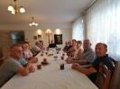 Zebranie radnych, sołtysów i przewodniczących KGW w sprawie dożynek parafialnych,12.08.21 r.