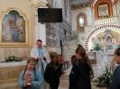 Rozdanie różańcy dzieciom przygotowyjącym się do I Komunii, 7 październik 2021 r.