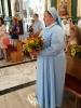 5. rocznica ślubu Katarzyny i Andrzeja Konowalskich oraz 25. rocznica ślubów zakonnych s. Doroty