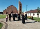 Kapłańskie pielgrzymowanie przez dekanat pajęczański, 7.08.2018 r.